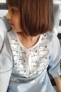 cotton gawn closeup