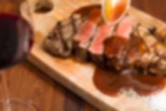 ブラウンカフェ 肉 ステーキ BBQ