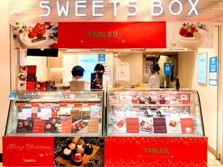 SWEETS BOX 天満橋で「TABLES」クリスマスケーキ販売!