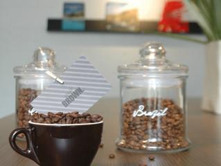 コーヒー豆がオリジナルブレンドに!