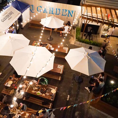 夏のビアガーデン GARDEN BBQ