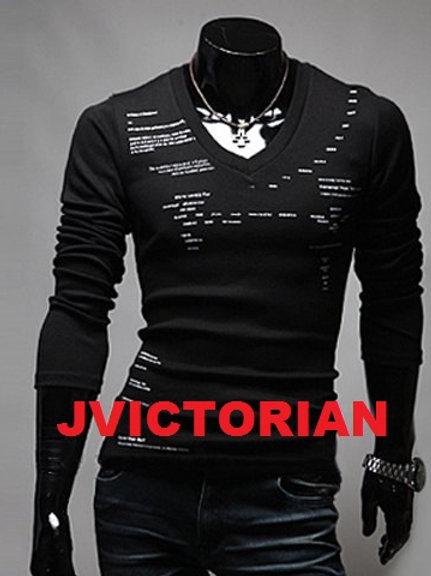 V-Neck Fashion Design Men's