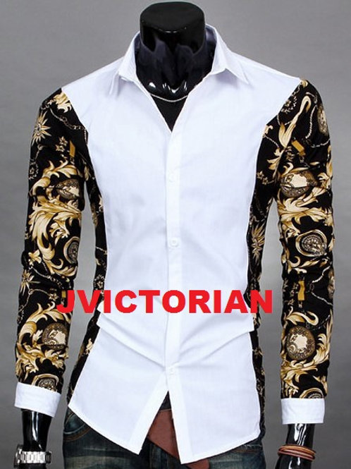 Design Sleeves Men Shirt