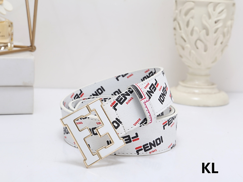 Fendi Logo Belt