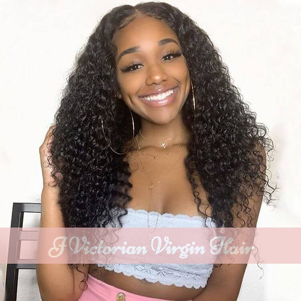 Curly Lace Part Wig