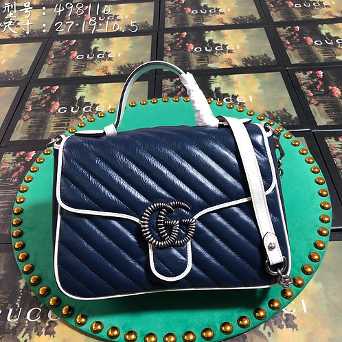 Gucci Navy Blue Bag