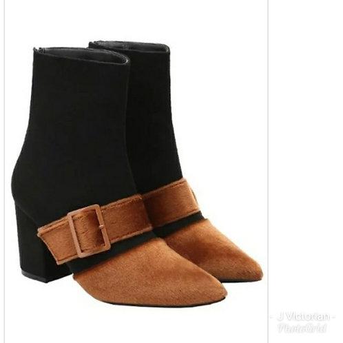 Black & Tan Boots