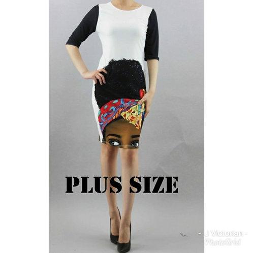 Print Plus Jody Dress