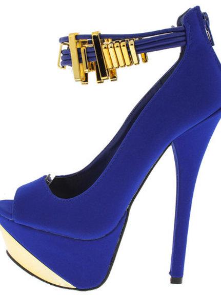 Cobalt Blue Heels
