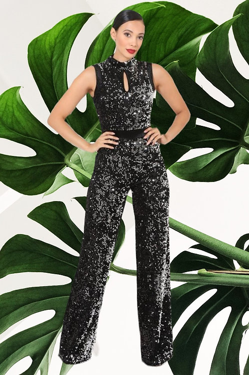 Sparkle Me Down Jumpsuit