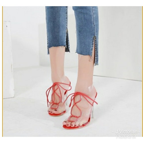 Joy Laced-up Heels