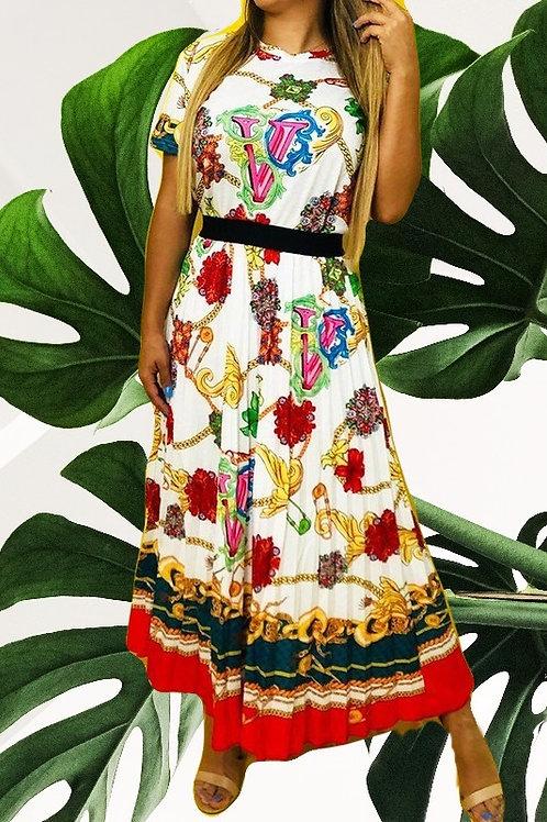 Khia's  Graphic Dress