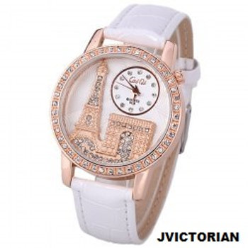 WOMEN'S Quartz Watch with Diamonds Analog