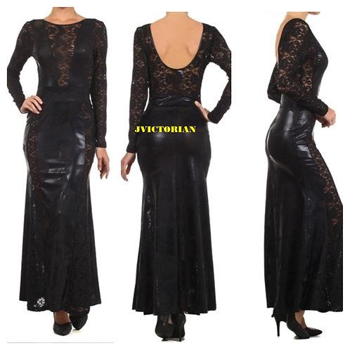 Leroux Black Elegant Gown
