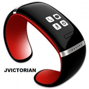 OLED Watch and Sports Pedometer Bluetooth Bracelet