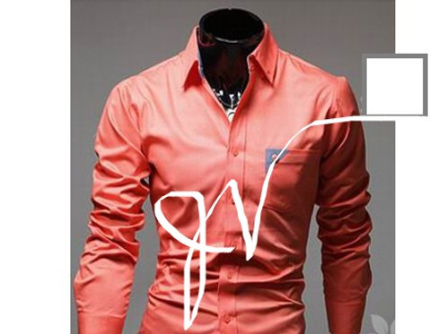 Fashion Style Lapel Collar Slimming Color Block