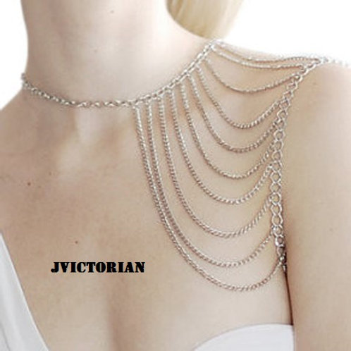 Simple Tassels Embellished Body Chain For Women