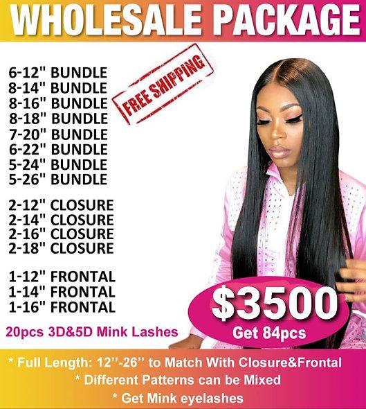 84 Pcs Wholesale Bulk Pricing