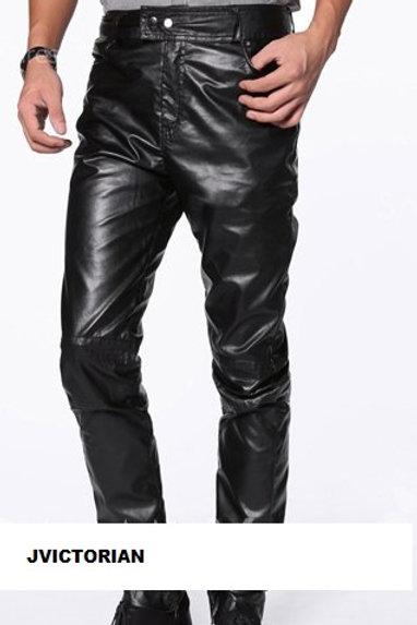 Fashion Straight Leg Solid Color Zipper Design Sli