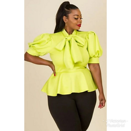 Lime Blouse