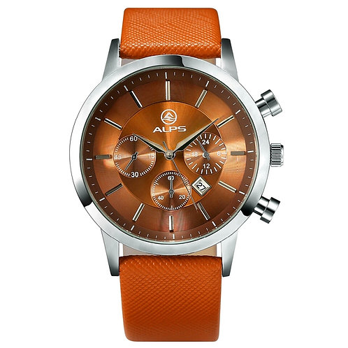 Men Watch Orange Band