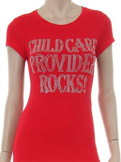 Childcare Providers Rock Rhinestone