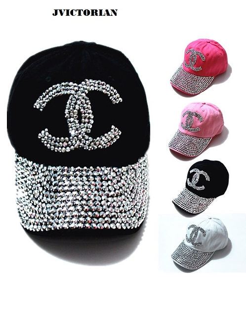 CHANEL STYLE BLING HATS