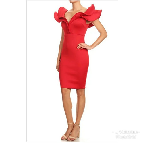 Red Fancee Dress