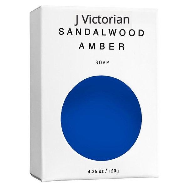 Sandalwood Amber Natural Vegan Soap