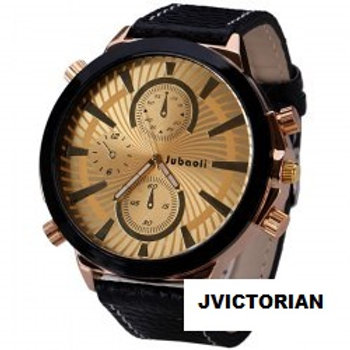 Fashion Quartz Wrist Watch with Big Dial Analog