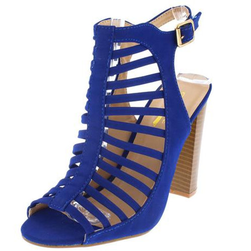 Strapy Blue heels