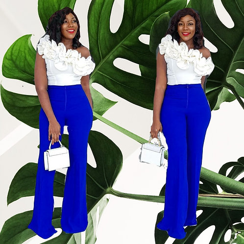 Royal Blue African Pant