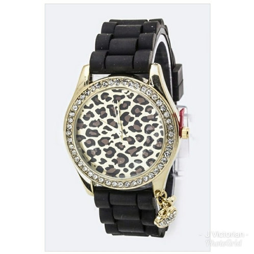 Black Leopard Watch
