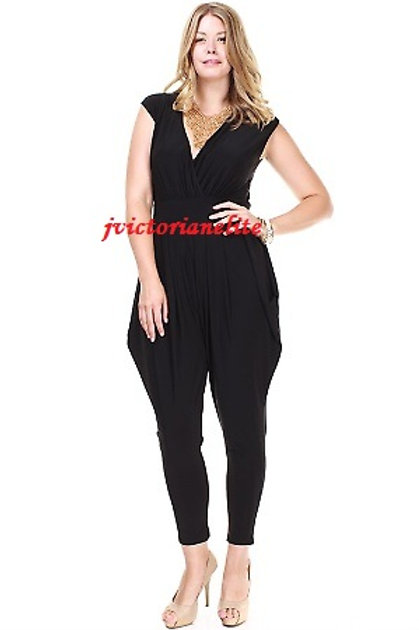 Black Plus Jumpsuit