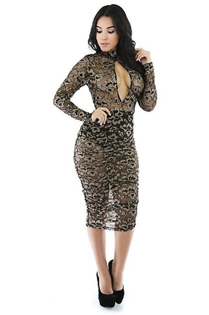 Sexy See-Thru Dress