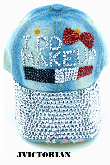 MUA Rhinestone Hat