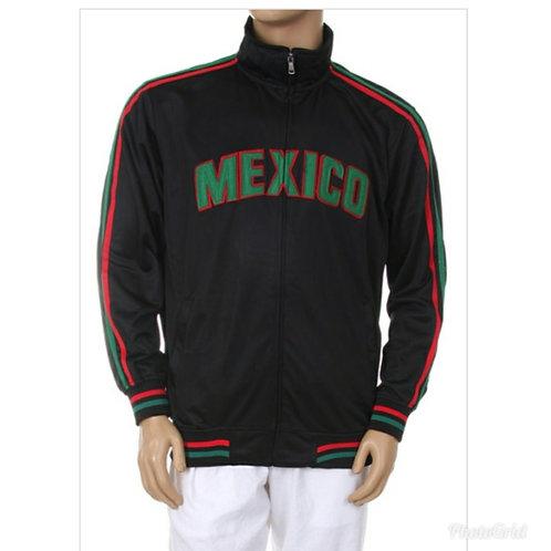 Black Mexico Men's Jacket