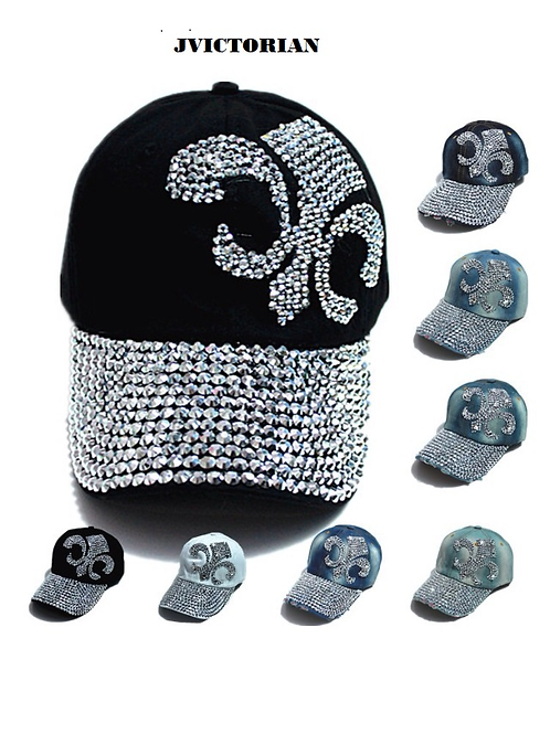 DESIGNER BLING HAT