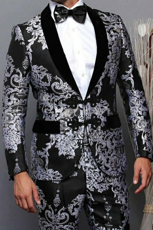 Grey Men's Three Piece Suit