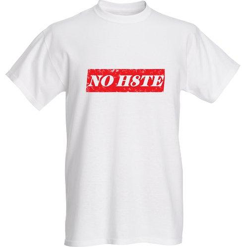 No H8te Red Custom T-Shirt