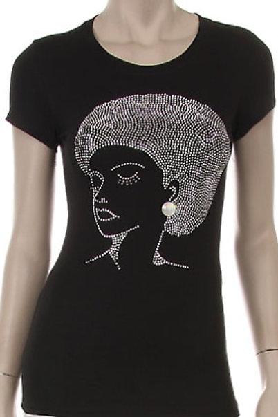 Afro Rhinestone