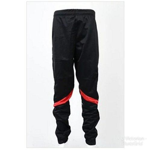 Fashion Men's Black & Red Joggers