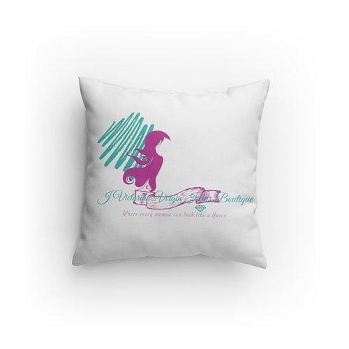 J Victorian Virgin Pillow