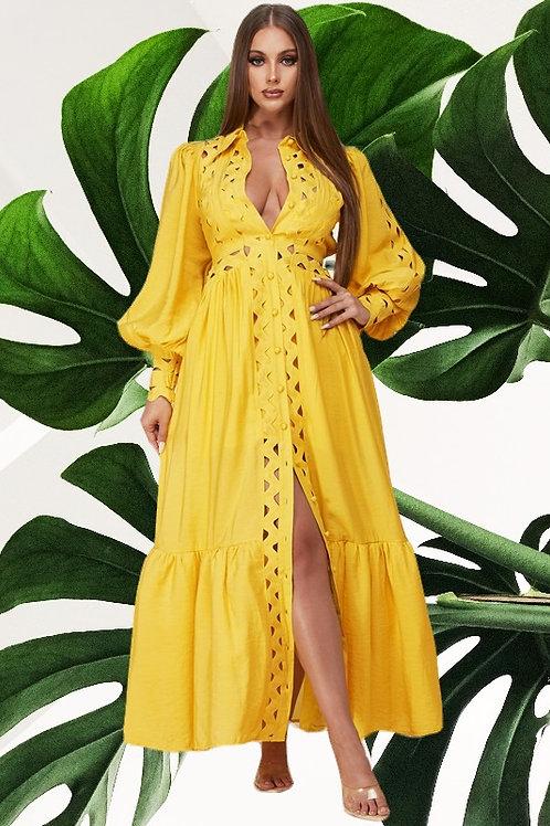 Banana Split Dress