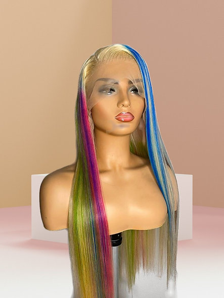 Custom Color Lace Wig