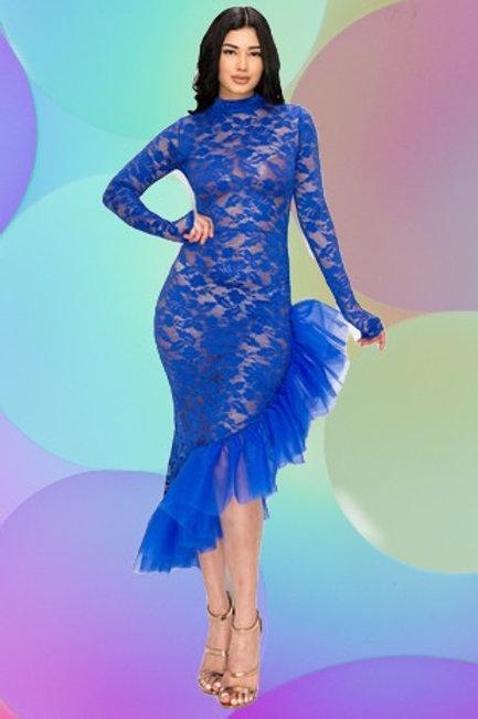 Royal Lace Dress