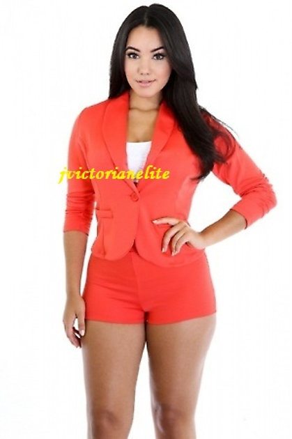 Orange Plue Jumpsuit