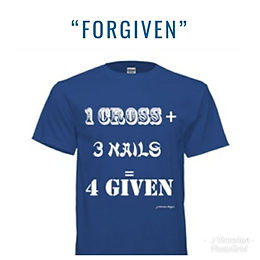 1 Cross Royal Blue Custom T-Shirt