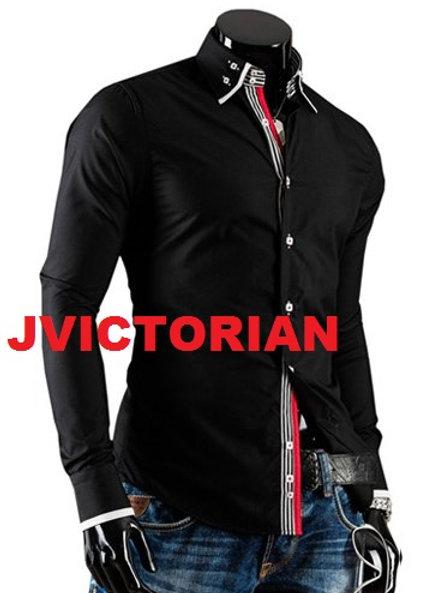 Black Stripped Design Shirt