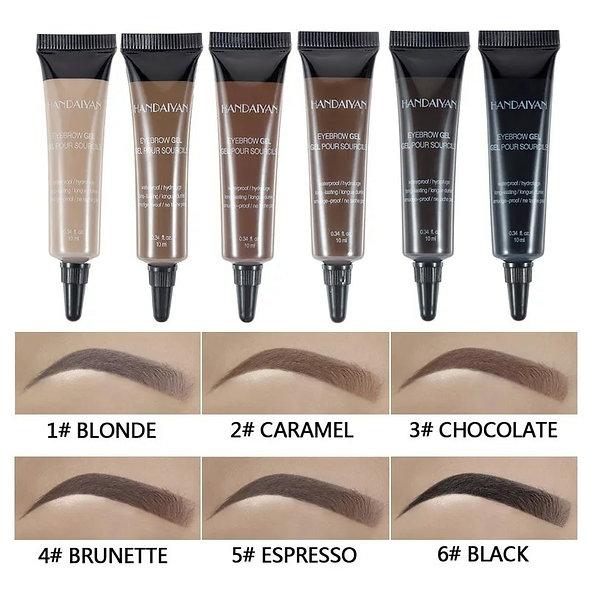6 Colors Eyebrow Cream Gel